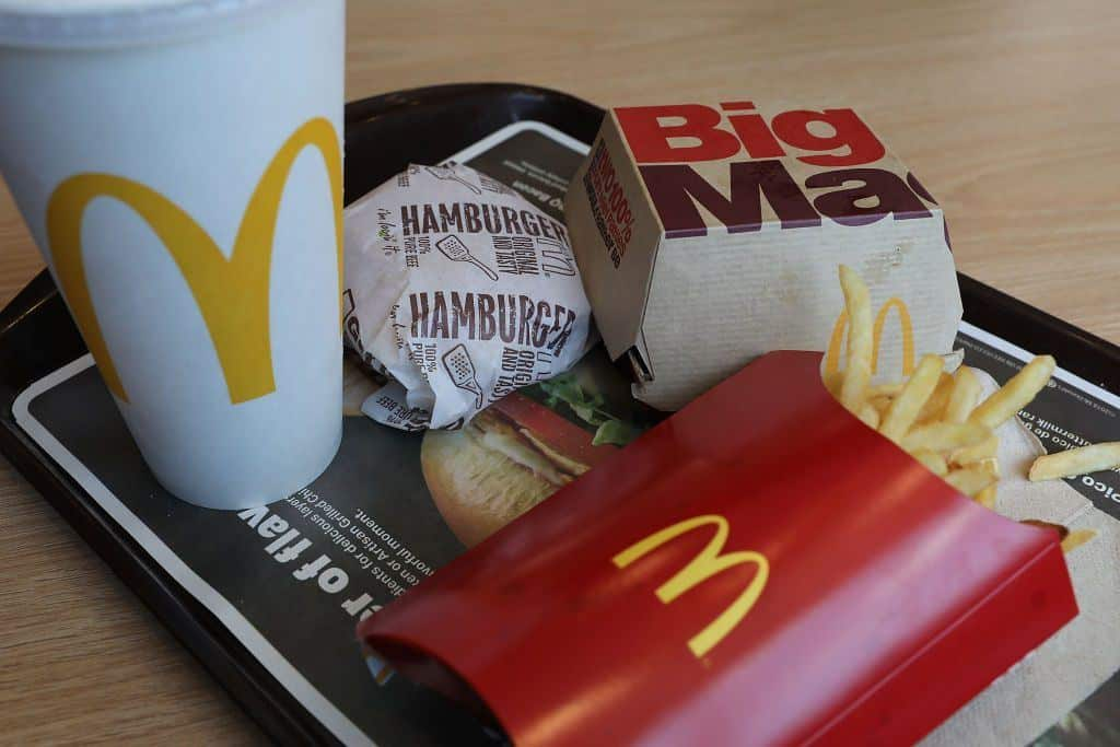 McDonald's meal - Complete menu and prices in Canada