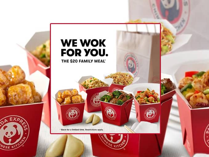 Panda Express Family Meal - Menu, Prices, history and all